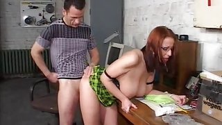Busty sexy MILF with redhead bonked in the hospital