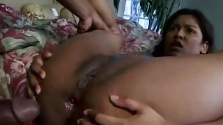 Indian Bottom Fucked & Creampied