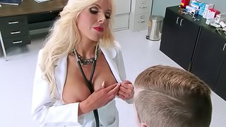 Doctor slut finds that big cock sex cures all her ills