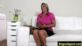 Tyler from 1fuckdatecom - Bigtitted euro toying her pussy at