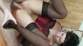 Russian wife anal sex