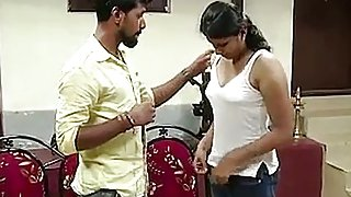 German Tailor with mallu college girl-- Hot Shortfilm