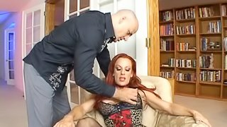 Shannon is fucked silly while wearing stockings