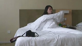 chinese lover making love in hotel