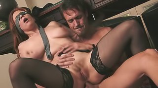 Extraordinary bang scene with a naughty porn hottie Penny Pax in action