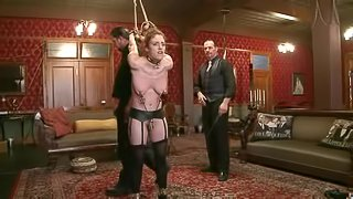 Hogtie suspension with one leg only