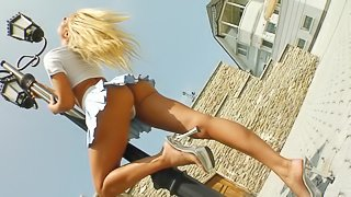 Astounding Veronica Masturbates With A Huge Toy In A Solo Model Video