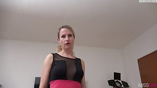 Attractive mature blonde gets fucked without mercy