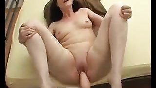 Ugly Mother Getting Fucked By A Machine