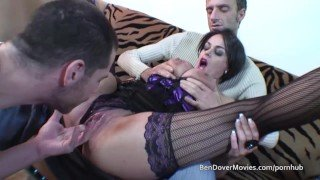 Ben Dover Pascal and friend ass and pussy fuck a hot big boobed mother