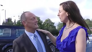 Business man with a small cock gets his chance at a curvy milf