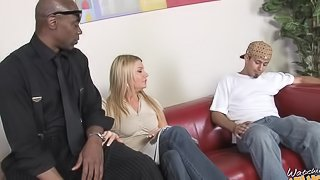 Christina Skye hardcore fucked in cuckold sex scene with bf watching