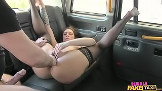 Taxi Cab Owner Dishes Out Anal Sex