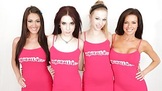 ImmoralLive Video: Aiden Ashley, Avril Hall, Veronica Avluv and Victoria Love