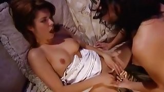 Hot Sluts End The Day With Some Lesbian Action