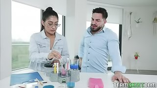 Penetrating A Chemistry Cutie