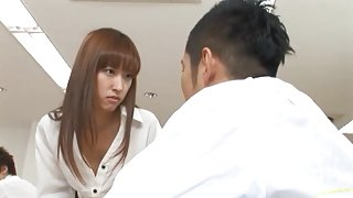 Maho Uruya hottest teacher fucking