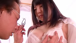 Ai Uehara gets fucked in cowgirl position and doggy style