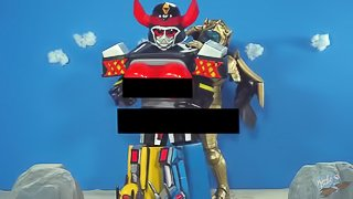 Liveman - Mighty Muffin Pounder Rangers (Russian Review)