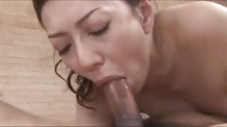 Japanese Mature Aki Ishika Gets Creampied