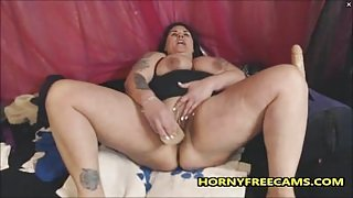 Huge Crazy Multi Squirting From BBW Slut