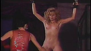 Submissive blonde with a slim body loves to get dominated and pleased