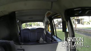 ### tits British amateur in fake taxi gives titsjob