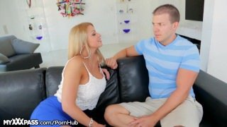 Brooklyn Chase Throats Her Stepson