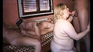 The Absolute best of bisexual MMF - Italian Swingers Pt I