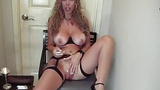 mommy elke joi and pussy play