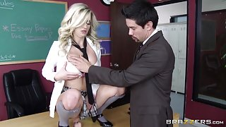 Big Tits at School: Learning the Hard Way. Sienna Day, Kevin Jules