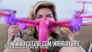 DIldo Drone - Flying Vibrator Masterbation Toy - Sex Toy Porno Drone
