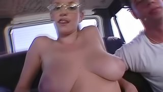 Alishia's Fucked Silly In The Backseat Of The Bang Bus