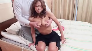 Adorable Miku Natsukawa can't keep a dick out of her mouth