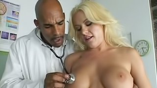 Whore with Hot Ass & Tits Fucked By Doctor