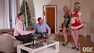 Anal by the Tree - A Swingers Holiday Fantasy