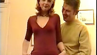 Spectacular French Blonde Gets Fucked in a Vintage Amateur Porn Vid