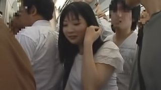 Group Sex On The Bus With Japanese Cutie.