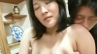 44yr old japanese mom creampied by Son