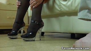 NylonFeetVideos Clip: Miriam and Peter B