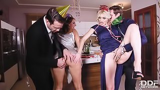 Group Sex on New Year's Eve