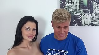 Dan just can't wait to give Aletta Ocean a creampie that she deserves!