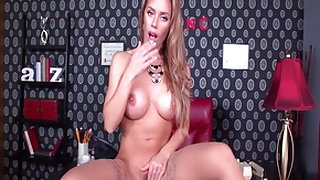 Best pornstar Nicole Aniston in exotic big tits, stockings adult clip