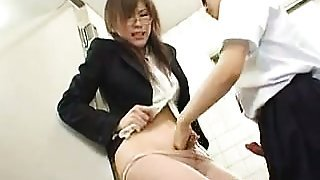 Asian Schoolgirl And Teacher