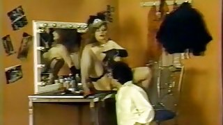 Becky Savage, Busty Belle, Candy Samples in classic sex scene