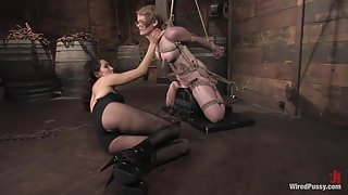Two weeks after turning 18 Ivy fulfills her lifelong fantasy of being tied up and dominated!!!