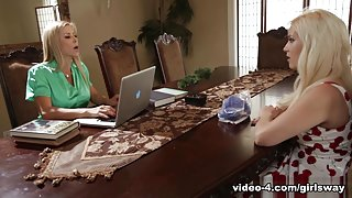 Alexis Fawx & Kylie Page in The Art of Older Women: Part Two - GirlsWay