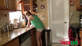 Cadence Lux in Sticky Situation