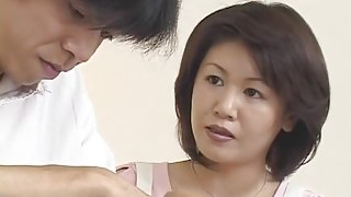 The Stepmother loves young cock