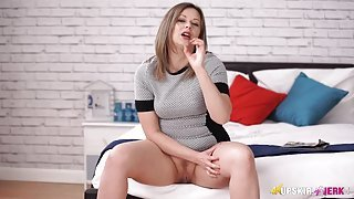 Fantastic JOI from a babe in a tight dress